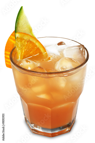 Cocktail made of Vodka, Liqueur and Grapefruit Juice