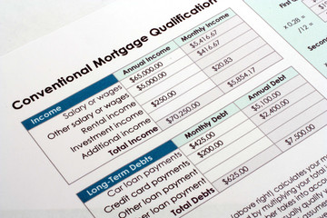 Mortgage Qualification Document