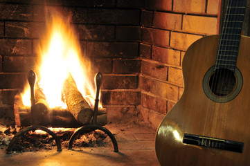 Una canzone e una chitarra