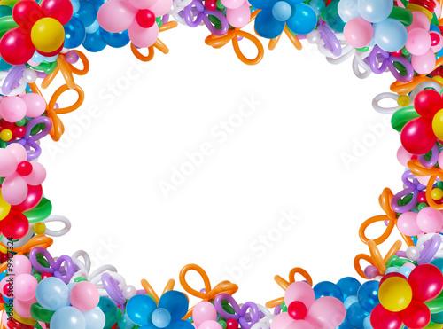 frame or balloons - 9907324