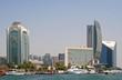 Skyline Dubai Creek, Vereinigte Arabische Emirate