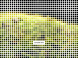 Mozaic pixelated wallpaper poster