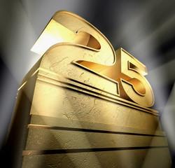 25 birthday monument