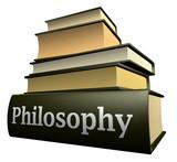 Fototapety Education books - philosophy