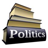 Education books - politics poster