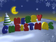 merry christmas - 3d background