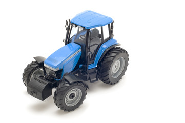 object on white - toy - tractor