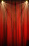 rideau spectacle scène théatre concert cabaret spot velour artis