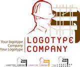 logotype construction poster