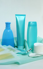 Household items for cleanliness and hair-removing
