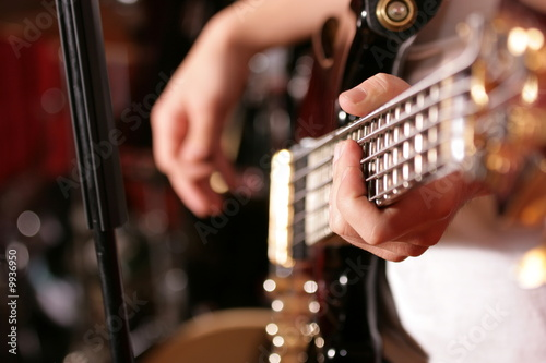 Play the guitar