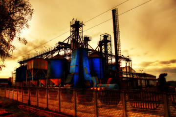 Industrial zone (fairylike effect)