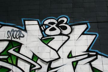 graffiti firma. arte urbano