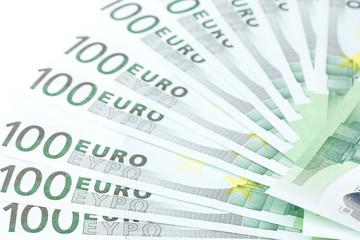 Wertvoller Fächer mit vielen Geldscheinen