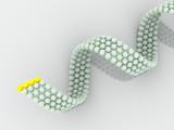 gene in DNA. 3d poster