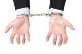 menotteprison harcèlement argent illégal attacher police poster