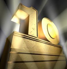 10 birthday monument