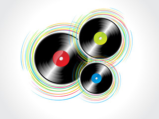 Vinyl Rasta with wave background.