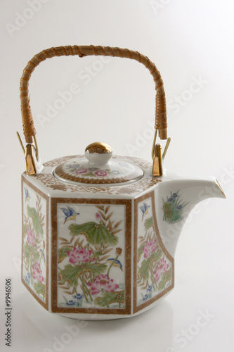 Antique korean teapot