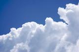White Cumulus Clouds poster