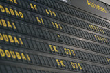 Arrivees Arrivals Aeroport poster