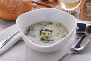 Minestra all uovo - Primi - Ricette della Lombardia