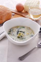 Minestra all uovo - Primi - Ricetta della Lombardia
