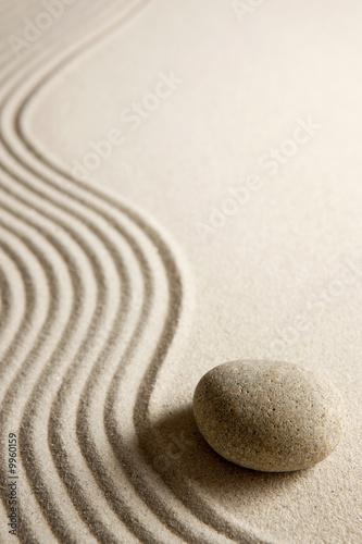Leinwandbilder,zen,fels,steine,sand