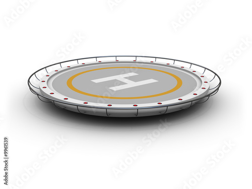 heliport (image can be used for printing or web) - 9961539