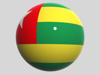National Flag. Togo