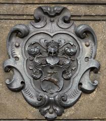 Wappen auf Karlsbrücke 18. Jahrhundert