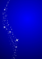 merry christmas stars, blue background