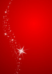 Merry Christmas red decorations