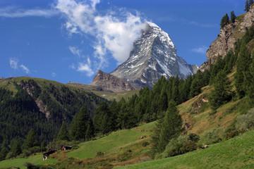 Matterhorn landscape