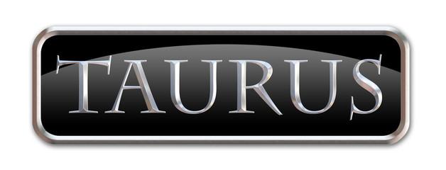 Boton con las letras del signo zodiacal Tauro