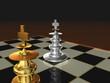 Schach-Szene