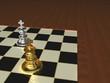 Schach-Endspiel