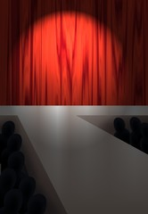palco luci basse