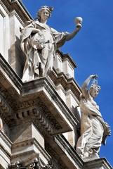 Particolare della Fontana di Trevi, Roma