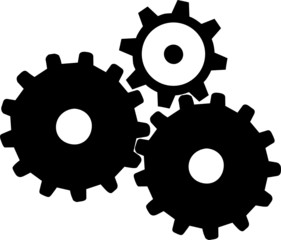Gears. Mechanical gears for your design