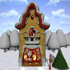 Toon Santas Helper House