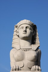 Sphinx Statue in Paris, France