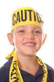 safety kid smiling poster