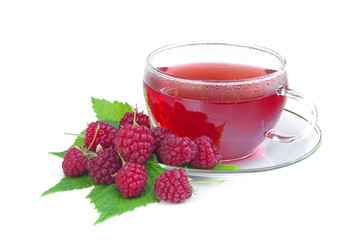 Tee Himbeere - raspberry tea 02