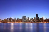 Midtown Manhattan skyline at Night Lights, NYC - 10003991