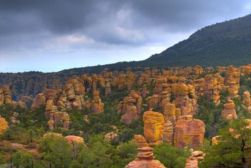 Chiricahua National Monument in Southeast Arizona