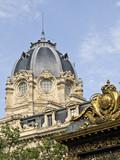 Palais de Justice of Paris poster