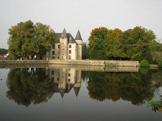 Château de Nieul, Limoges, Limousin,