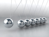 Fototapety balancing balls Newton's cradle