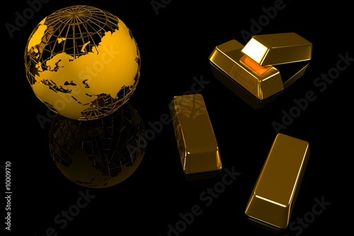 Gold world